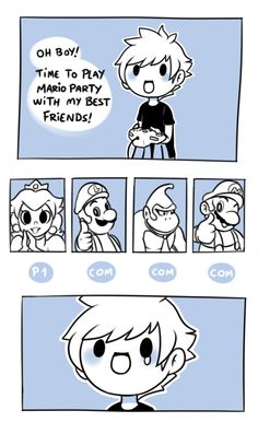 Mario and Friends via Reddit user likwitsnake