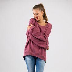 Nähanleitung für einen Pullover / diy sewing instruction for a sweater by schnittchen schnittmuster via DaWanda.com