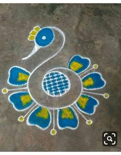 Easy Rangoli Designs Diwali, Rangoli Simple, Indian Rangoli Designs, Simple Rangoli Designs Images, Rangoli Designs Latest, Rangoli Designs Flower, Free Hand Rangoli Design, Small Rangoli Design, Rangoli Patterns