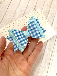 f2ef8c781d8ad Valentines Heart Bow - Baby Nylon Headband - Candy Heart Hair Bow ...