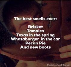 Texas smells