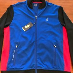 d122c4e1b6e Shop Men s Polo by Ralph Lauren Blue size L Performance Jackets at a  discounted price at