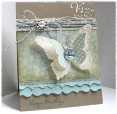 ♥♥♥ this card! Take a look at all the details and you will fall in ♥ with this card too!