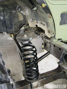 In part 5 of the rescued Jeep Wrangler project we add rubber, links and move more metal. See how this project is making it closer to the finish line thanks to Off-Road Connection beadlocks, the EVO Manufacturing control arm mounts a and more! Wrangler Jeep, Jeep Cj, Jeep Mods, Jeep Truck, Ford Trucks, Toyota Trucks, Jeep Wranglers, 4x4 Trucks, Truck Bed