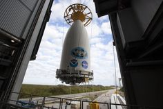 Photos: Atlas 5 rocket assembled for crucial GOES-R satellite launch