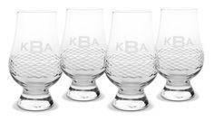 Glencairn Scotch Glasses Monogrammed from eThoughtfulThings.com