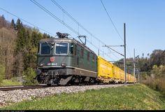 Location Map, Photo Location, Electric Locomotive, Auto Service, Switzerland, Swiss Railways, Trains, Image, Train