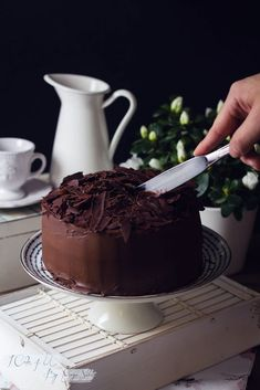 Hot chocolate in the West Indies - Clean Eating Snacks Chocolate Cafe, Chocolate Desserts, Choclate Cake Recipe, Delicious Desserts, Yummy Food, Dessert Cake Recipes, Cake Shop, Special Recipes, Cakes And More