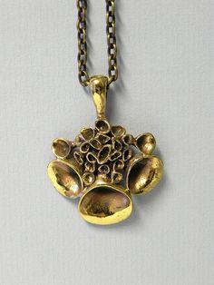 Hannu Ikonen Valo Koru Finland necklace from the lav range by beautifulsweden