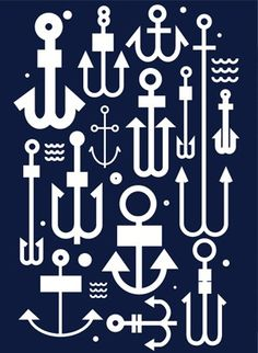 anchors // via kate spade