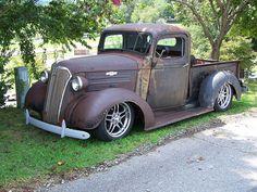 1937 CHEVY RAT ROD TRUCK | by classicfordz