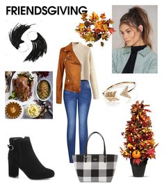 """Thanksgiving with my loved ones"" by nstover ❤ liked on Polyvore featuring 2LUV, Kate Spade, NA-KD, EF Collection, Williams-Sonoma and Improvements"