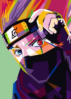 KAKASHI poster by from collection. Naruto Wallpaper Iphone, Naruto And Sasuke Wallpaper, Wallpaper Naruto Shippuden, Naruto Shippuden Anime, Naruto Art, Best Naruto Wallpapers, Animes Wallpapers, Pop Art Posters, Poster Prints