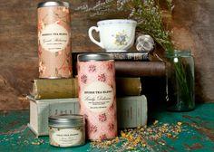 Tea Gift Set  delicious divine serene chai por MulleinandSparrow, $40.00