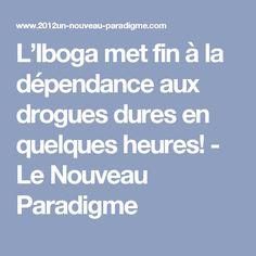 L'Iboga met fin à la dépendance aux drogues dures en quelques heures! - Le Nouveau Paradigme Baby Born, Stuff Stuff, Plant