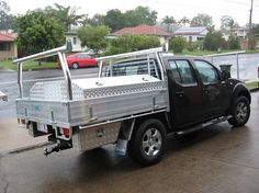 Alloy Ute Trays Brisbane - Supplying Brisbane with heavy duty ute trays made with stronger design floor panels, extra strong drop sides and much more.
