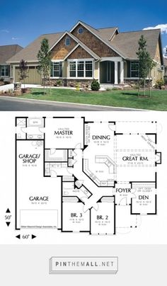 Love This House Plan 1231 - The Galen | Floor Plan Details - created via https://pinthemall.net