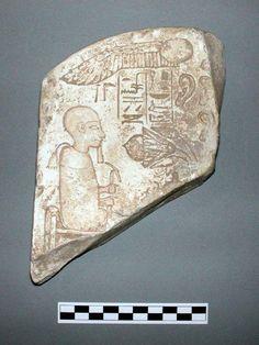 Ears stela dedicated to Ptah of Memphis. New Kingdom. Fitzwilliam Museum.