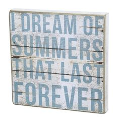 I Dream Of Summers That Last Forever