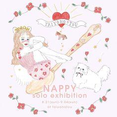 NAPPY illustrator JAPAN  WEB: nappy.wp.xdomain.jp