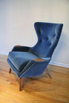 Adrian Pearsall Wing Chair for Craft Associates 2