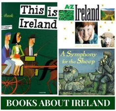 Books about Ireland for Kids- Kid World Citizen Around The World Theme, Kids Around The World, Teaching Kids, Kids Learning, Teaching Tools, Reading At Home, Fiction And Nonfiction, Children's Literature, Book Lists
