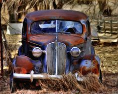 Old rusty car .#jorgenca