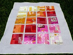 scrappy sunrise, finished by jenn of all trades, via Flickr