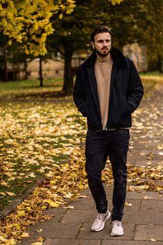 Herbst Streetstyle  Mr Wichting wears Bomboogie winter jacket  #winterjacket #urbanfashion #bomboogie
