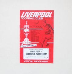 Liverpool v Sheffield Wednesday 1966