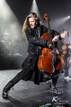 Perttu Kivilaakso of Apocalyptica. Yes, there is a reason he and Eicca get pinned a lot. Because they're gorgeous and make brilliant music.