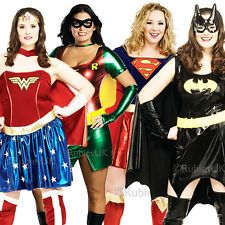 Superhero Plus Size UK Ladies Fancy Dress Comic Character Womens Costume  sc 1 st  Pinterest & 33 best Costume Women Superhero Plus Size images on Pinterest ...