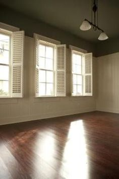 Chemicals aren't necessary to make wood floors shine.