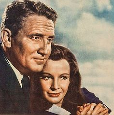 "Spencer Tracy y Signe Hasso en ""La Séptima Cruz"",..."