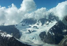 Photography by Aimee L Maher http://aimee-maher.artistwebsites.com/featured/glacier-mountain-aimee-maher.html Alaska glacier nature photo wall art home decor $37 Pin it