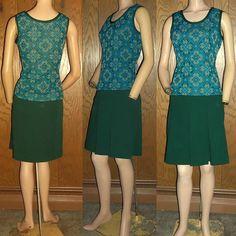 Vintage 60s Catalina Sportswear Forest Green High Waist by clovas, $38.00