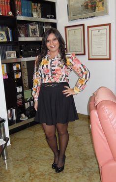 Il mio #outfit alla #sfilata #PassaroSposa http://travelandfashiontips.blogspot.it/2013/11/outfit-righe-e-fiori-pesca-per-la.html