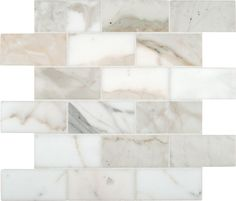 Kitchen backsplash MS International Calacatta Gold 12 in. x 12 in. Polished Marble Mesh-Mounted Mosaic - The Home Depot Marble Subway Tiles, Marble Mosaic, Stone Mosaic, Mosaic Wall, Mosaic Tiles, Wall Tiles, Mosaics, Calcutta Gold Marble, Calacatta Gold