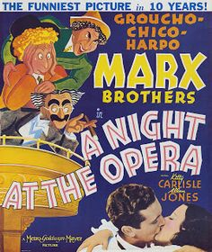 A Mythical Monkey writes about the movies: Best Actor Of 1932-33 (Comedy/Musical): The Marx Brothers (Horse Feathers and Duck Soup), Part Eight