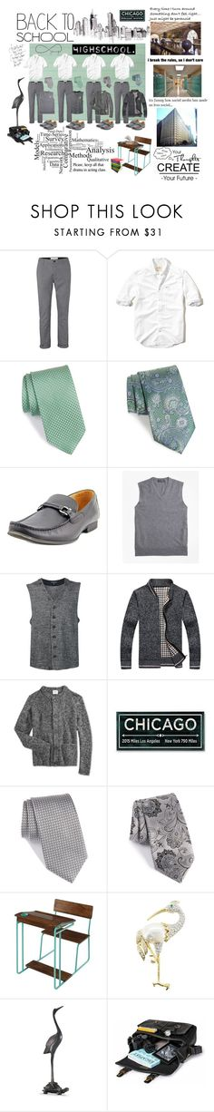 """""""SPA Boys Uniforms"""" by foreevers ❤ liked on Polyvore featuring Topman, Hollister Co., John W. Nordstrom, Nordstrom, Steve Madden, Brooks Brothers, Engineered Garments, WeSC, WALL and Swarovski"""
