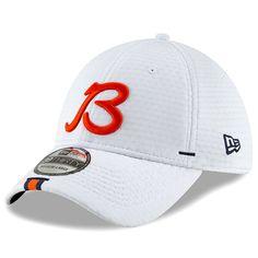 half off 8e15c ff1c0 Men s Chicago Bears New Era White 2019 NFL Training Camp Official 39THIRTY  Flex Hat, Your
