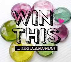 GIVEAWAY --> Rose Cut Diamonds & Tourmalines! ... see our blog post for details: http://siamgempalace.wordpress.com/2012/09/02/giveaway-diamonds-tourmalines/