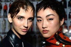 NYFW Fall 2015 - Beauty Trends - Black Eyeliner - Rag & Bone