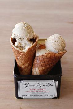 Earl Grey Ice Cream   HonestlyYUM