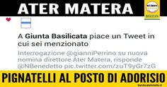Direttore ATER Matera: Pignatelli designato per sostituire Adorisio