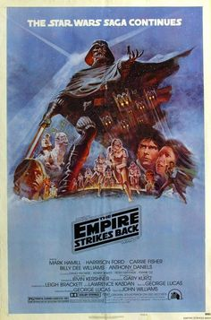 Original Star Wars The Empire Strikes Back :: Poster Design by Tom Jung