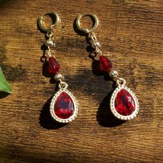 Old Witch Anime Inspired Earrings