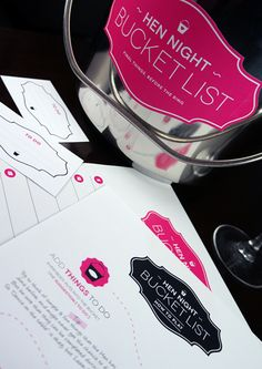 ✔ Final Things, before the Ring ~ Hen Night Bucket List. Bachelorette Bucket Lists, Bachelorette Themes, Hen Night Ideas, Hen Ideas, Wedding Games, Wedding Ideas, Hen Nights, Hen Party Games, Crystal Wedding