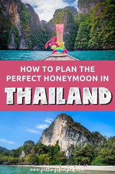 Do you enjoy to go to vacation, as much as I do? I am pretty sure, the answer is yes :-) In this article you will find some guidance about the beautiful country of Thailand. Have fun the article and enjoy your trip in Thai country. All Inclusive Honeymoon, Best Honeymoon Destinations, Honeymoon Planning, Romantic Honeymoon, Travel Destinations, Honeymoon Budget, Honeymoon Ideas, Holiday Destinations, Thailand Vacation