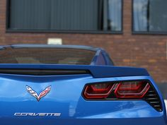 Something special stops by our office. #cars #Corvette #Stingray